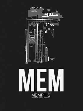 MEM Memphis Airport Black by NaxArt