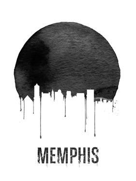 Memphis Skyline White by NaxArt