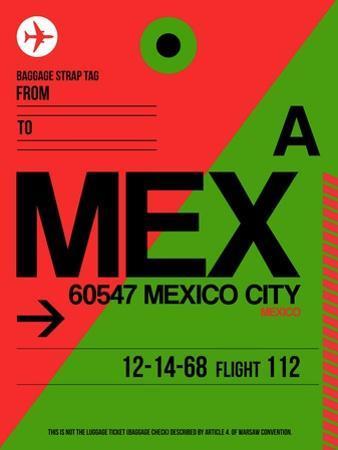 MEX Mexico City Luggage Tag 2