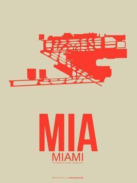 Mia Miami Poster 3 by NaxArt