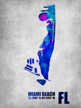 Miami Beach Florida by NaxArt