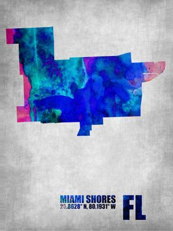Miami Shores Florida by NaxArt