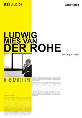 Mies Van Der Rohe Poster by NaxArt