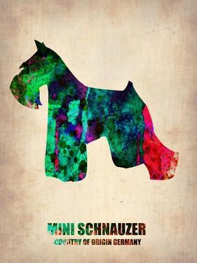 Miniature Schnauzer Poster by NaxArt