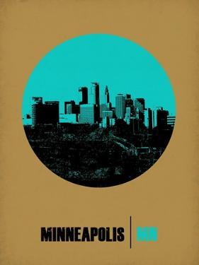 Minneapolis Circle Poster 1 by NaxArt