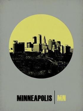 Minneapolis Circle Poster 2 by NaxArt
