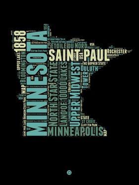 Minnesota Word Cloud 1 by NaxArt