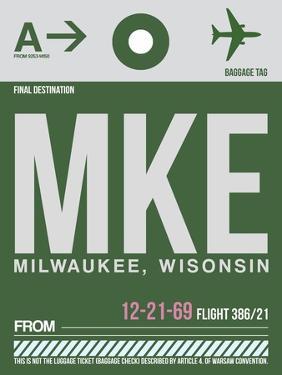 MKE Milwaukee Luggage Tag II by NaxArt
