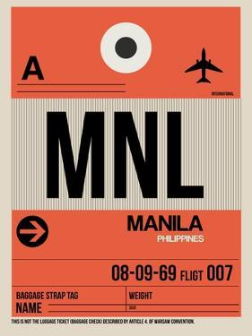 MNL Manila Luggage Tag I by NaxArt