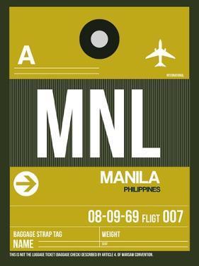 MNL Manila Luggage Tag II by NaxArt