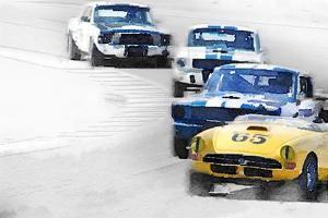 Monterey Racing Watercolor by NaxArt