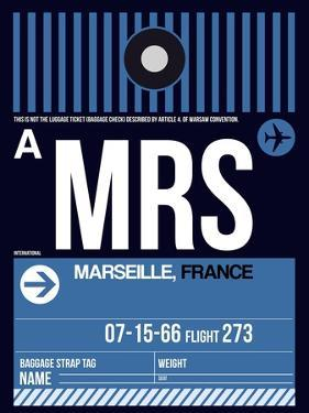 MRS Marseille Luggage Tag II by NaxArt