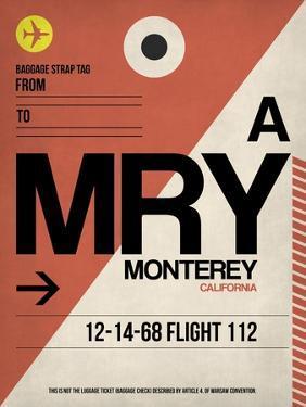 MRY Monterey Luggage Tag I by NaxArt
