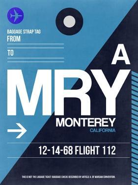 MRY Monterey Luggage Tag II by NaxArt