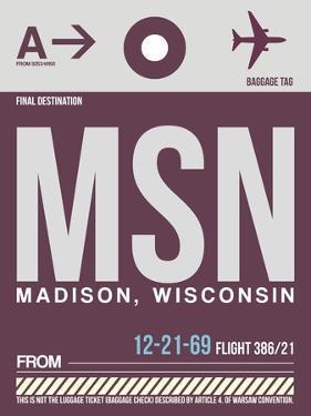 MSN Madison Luggage Tag II by NaxArt