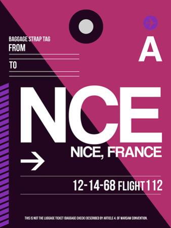 NCE Nice Luggage Tag 1 by NaxArt