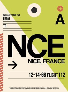 NCE Nice Luggage Tag 2 by NaxArt