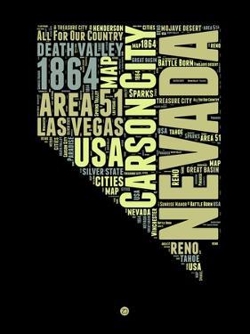 Nevada Word Cloud 1 by NaxArt