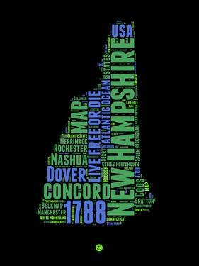 New Hampshire Word Cloud 1 by NaxArt