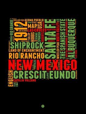 New Mexico Word Cloud 1 by NaxArt