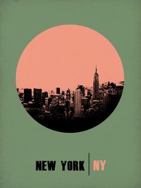 New York Circle Poster 1 by NaxArt