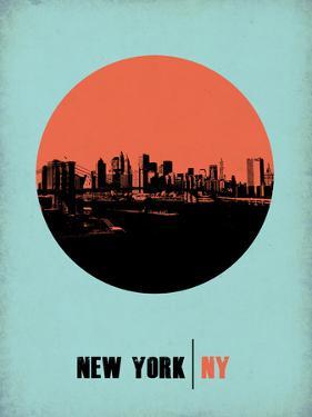 New York Circle Poster 2 by NaxArt