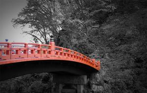 Nikko Red Bridge by NaxArt