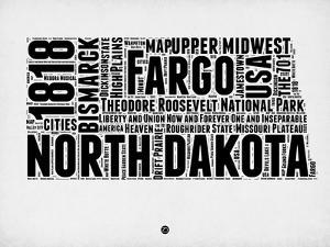 North Dakota Word Cloud 2 by NaxArt