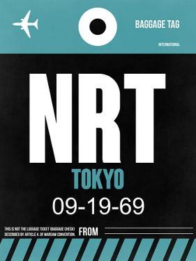 NRT Tokyo Luggage Tag 2 by NaxArt