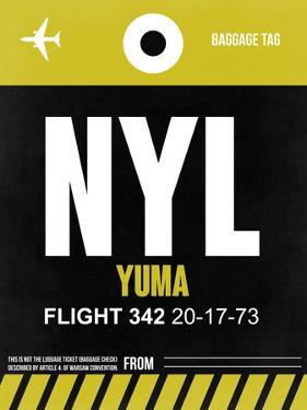 NYL Yuma Luggage Tag II by NaxArt