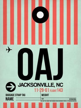 OAJ Jacksonville Luggage Tag I by NaxArt