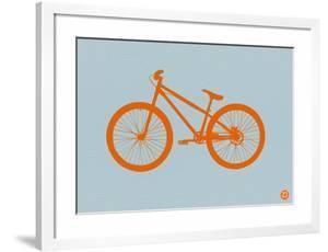 Orange Bicycle by NaxArt