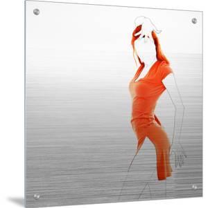 Orange Dress by NaxArt