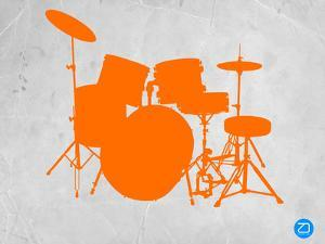 Orange Drum Set by NaxArt