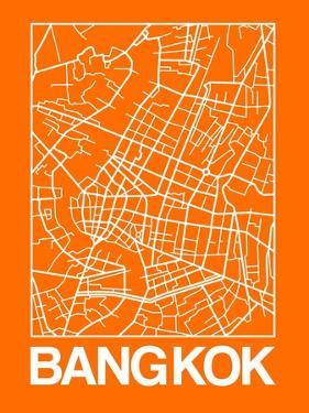 Orange Map of Bangkok by NaxArt
