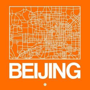 Orange Map of Beijing by NaxArt