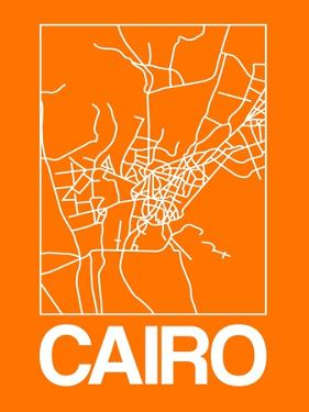 Orange Map of Cairo by NaxArt