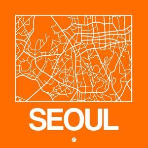Orange Map of Seoul by NaxArt