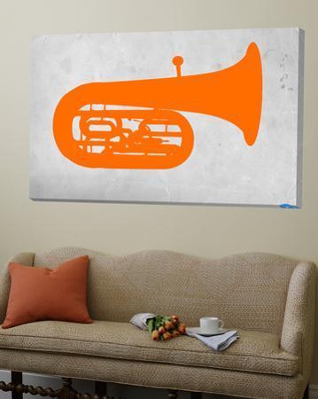 Orange Tuba 2 by NaxArt