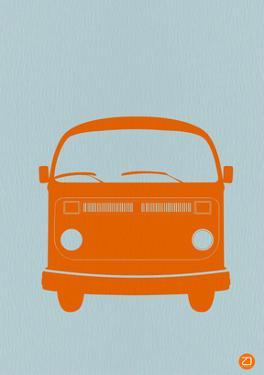 Orange VW Bus by NaxArt