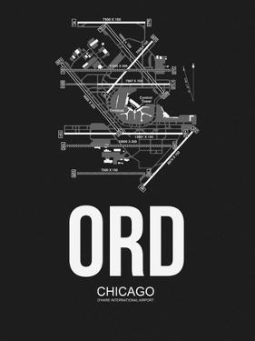 ORD Chicago Airport Black by NaxArt