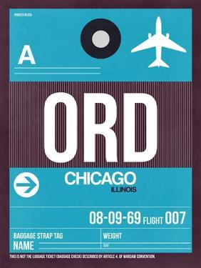 ORD Chicago Luggage Tag 1 by NaxArt