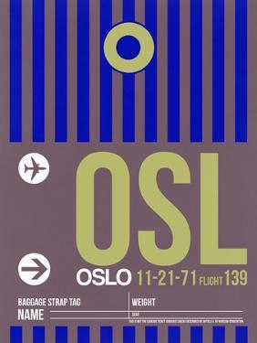 OSL Oslo Luggage Tag 2 by NaxArt