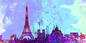 Paris City Skyline by NaxArt