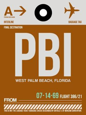 PBI West Palm Beach Luggage Tag II by NaxArt