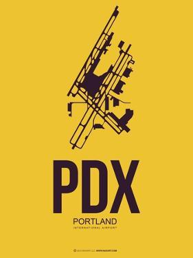 Pdx Portland Poster 3 by NaxArt