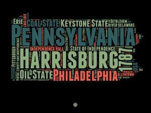 Pennsylvania Word Cloud 1 by NaxArt