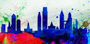 Philadelphia City Skyline by NaxArt