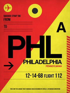 PHL Philadelphia Luggage Tag 2 by NaxArt