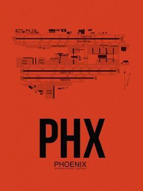 PHX Phoenix Airport Orange by NaxArt